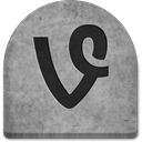 gray, Creepy, rock, social media, grave, scary, media, grey, witch, Social, Stone, Vine, tomb, tombstone, evil, ghosts, halloween, Cold, Boo, graveyard, October, spooky DarkGray icon