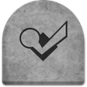 social media, Cold, Boo, media, scary, Foursquare, grave, tomb, evil, gray, Creepy, tombstone, graveyard, October, spooky, halloween, witch, Social, grey, Stone, rock, ghosts DarkGray icon
