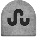 Cold, ghosts, grey, halloween, stumbl, scary, Boo, tomb, evil, graveyard, tombstone, Stone, October, spooky, gray, Stumbleupon, Creepy, Social, witch, rock, social media, grave, media DarkGray icon