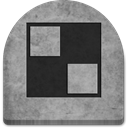 social media, grey, Cold, Boo, witch, scary, tomb, tombstone, gray, October, Social, Stone, rock, spooky, Creepy, evil, ghosts, graveyard, grave, media, halloween, Delicious DarkGray icon