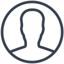 person, profile, user, Client, picture, photo, Avatar Black icon