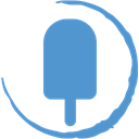 Fancy, Stamp, Social CornflowerBlue icon
