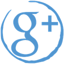 Stamp, Google+, Social Black icon