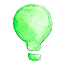 light, Idea, lamp Black icon