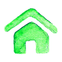 Build, house, Home Black icon