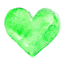 love, Like, Favorite, Heart LightGreen icon
