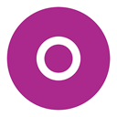 Orkut MediumVioletRed icon