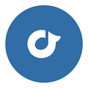 rdio SteelBlue icon