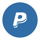 paypal SteelBlue icon