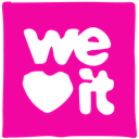 Weheartit, media, Pen, Ink, Social DeepPink icon