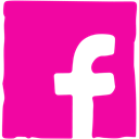 Facebook, Social, Ink, Pen, media DeepPink icon