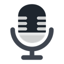 Device, entertainment, Communication, electronic, Microphone, Computer, Audio DarkSlateGray icon