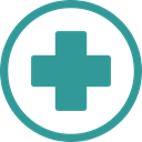 Ambulance, hospital, cross LightSeaGreen icon