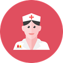 1, Nurse IndianRed icon