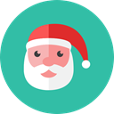 santa LightSeaGreen icon