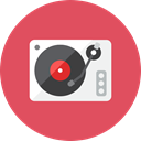 player, record IndianRed icon