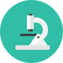 microscope LightSeaGreen icon