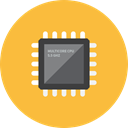 microchip SandyBrown icon