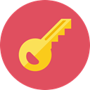 Key IndianRed icon