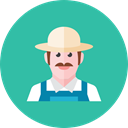 Farmer LightSeaGreen icon