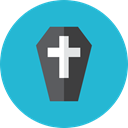 coffin LightSeaGreen icon