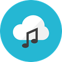 Cloud, music Icon