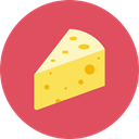Cheese IndianRed icon