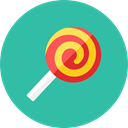 Candy LightSeaGreen icon