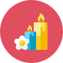 Candles IndianRed icon