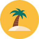 Beach SandyBrown icon