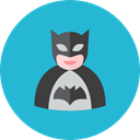 Batman LightSeaGreen icon