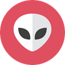Alien IndianRed icon