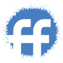 colour, Fiendfeed, Spray, set, media, Social SteelBlue icon