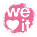 set, Weheartit, Spray, Social, colour, media PaleVioletRed icon