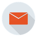 mail, e-mail, Social, Email Lavender icon