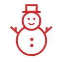 Snow, christmas, schnee, weihnachten, winter, snowman, x-mas Icon