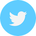 Logo, twitter LightSkyBlue icon