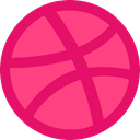 dribbble, Logo DeepPink icon