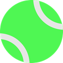 tennis, Ball LimeGreen icon