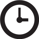 Clock Black icon