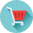 Basket, Cart, order, buy, shopping, sale, Shop SkyBlue icon