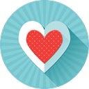 love, valentine's day, Favorite, Heart, Like SkyBlue icon