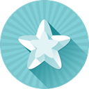 bookmark, star, Empty, rate, rating SkyBlue icon