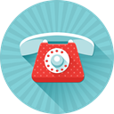 Call, phone, telephone SkyBlue icon