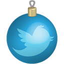 Social, twitter, toys, christmas, set, media Black icon