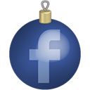 Social, set, toys, christmas, media, Facebook DarkSlateBlue icon