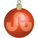 set, toys, christmas, media, Social, Stumbleupon Black icon