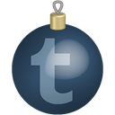 christmas, toys, Tumblr, Social, media, set DarkSlateGray icon
