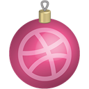 Social, christmas, media, set, dribbble, toys Icon