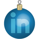 Linkedin, toys, set, christmas, Social, media Teal icon